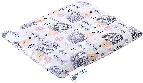Cuscino termico con noccioli di ciliegia grande 500g rettangolare 20x25cm 100% cotone Medi Partners per terapia del f...