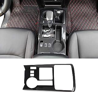 JeCar Gear Shift Panel Cover Interior Decoration Accessories Trim for Toyota 4Runner 2010-2019, Carbon Fiber Texture