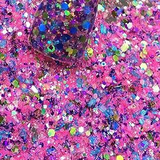 "Custom & Fancy Approx 0.5 Teaspoon of Small ""Nail Art"" Confetti Made of Premium"