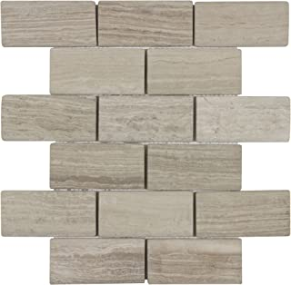 Mosaic Tile Outlet MTO0008 | Classic Subway Tan Natural Stone Tile
