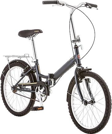 Schwinn 20'' U Hinge S2278C  - Bicicleta plegable, 20 pulgadas/mediano, gris