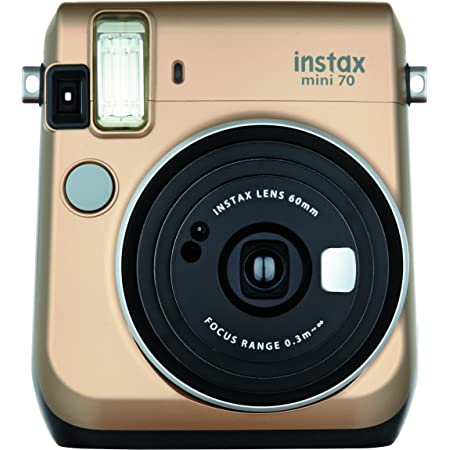 FUJIFILM インスタントカメラ チェキ instax mini 70 ゴールド INS MINI 70N GOLD