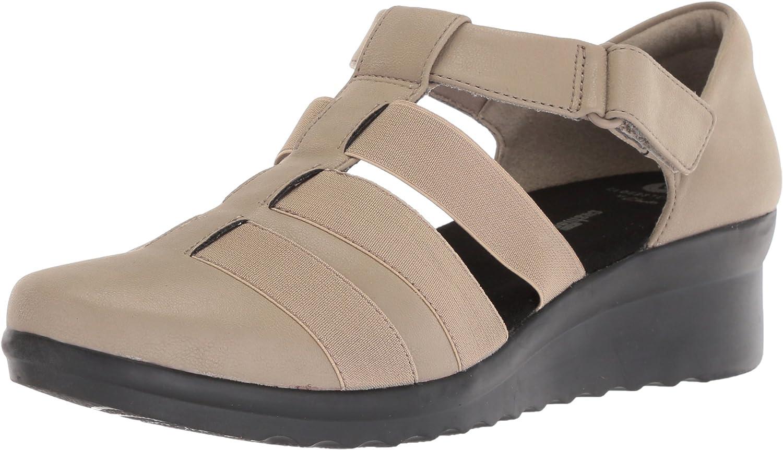 Clarks Women's Caddell Shine Sandals