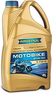 RAVENOL Motobike V Twin SAE 20W 50 / 20W50 Vollsynthetisch (4 Liter)