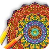 Livro de colorir Mandala