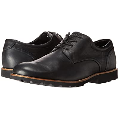 Rockport Colben Plain Toe Oxford (Black) Men