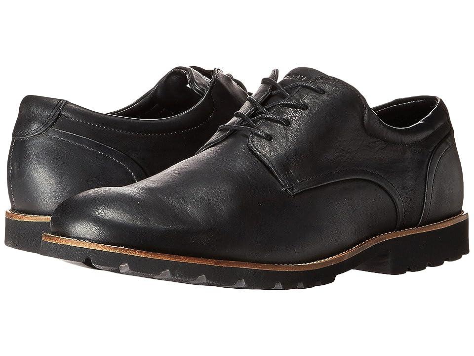 Rockport Colben Plain Toe Oxford (Black) Men