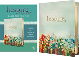 NLT Inspire Bible Large Print (LeatherLike, Multicolor)