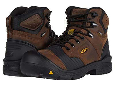 Keen Utility Portland Waterproof (Carbon-Fiber Toe) (Dark Earth/Black) Men