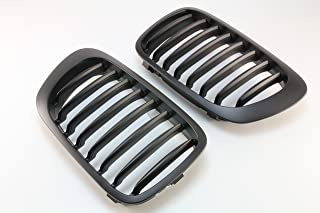 Front Grille Grill Matt Black FOR 01-06 BMW E46 M3 & 99-03 Pre-Facelift E46 2D Coupe