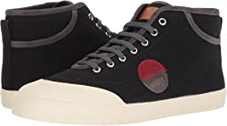 Stefhan Retro High Top Canvas Sneaker