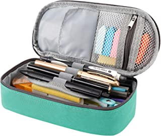 RAGZAN Pencil Case Big Capacity Pen Pouch, Stationery Bag Holder School Supplies for Primary Middle High School College an...