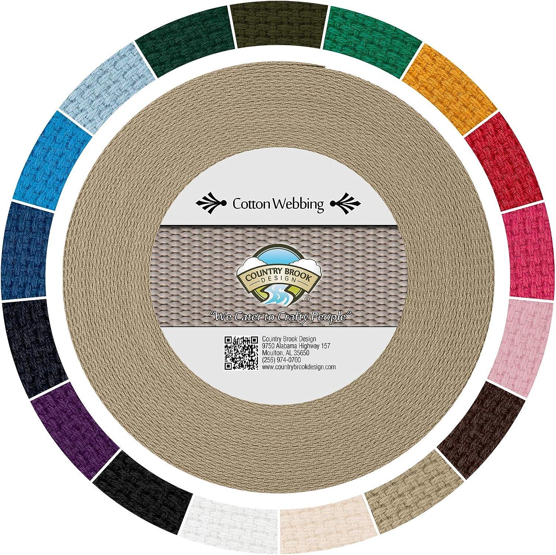 Country Brook San Antonio Mall Design - Camel Heavy Webbing Cotton with Vibran 17 Sale price