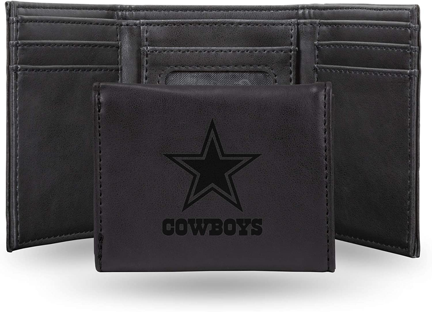NFL Rico Industries Laser Engraved Sales of SALE items from new works Trifold Wallet Dallas Cowboy Regular store