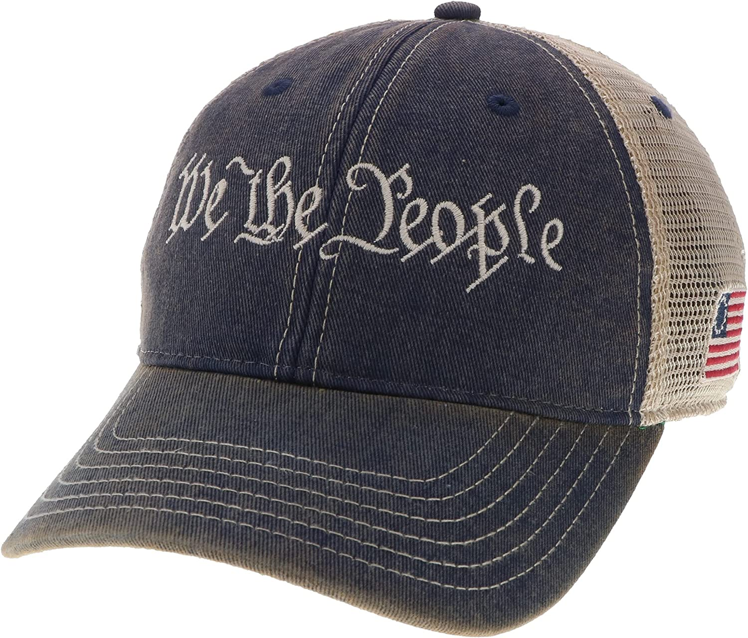 """Legacy """"We The People"""" Trucker Style Hat Navy"""