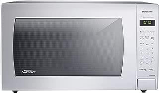 Panasonic NN-SN936W Countertop Microwave with Inverter Technology, 2.2 cu. ft., 1250W, White (Renewed)