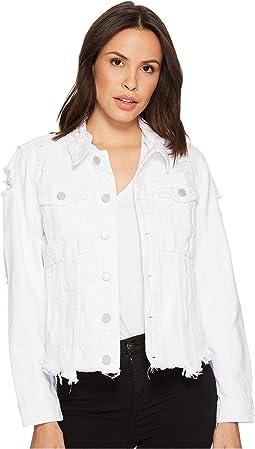 Blank NYC - Jean Jacket in Lightbox White