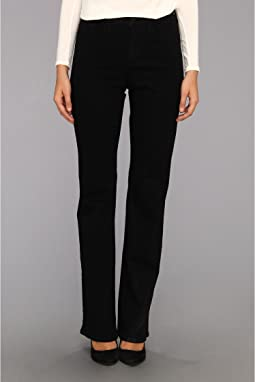 NYDJ Barbara Bootcut Long Inseam in Black