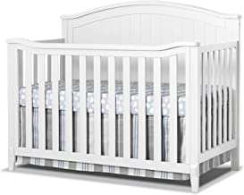 Sorelle Fairview 4-in-1 Convertible Crib, White
