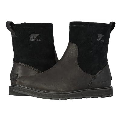 SOREL Madsontm Zip Waterproof (Black) Men