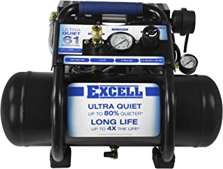 excell Sac22Hpe Excell SAC22HPE 2 Gallon Ultra Quiet Air Compressor