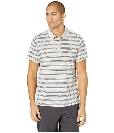 Columbia Thistletown Parktm Polo (Cool Grey Multi Stripe) Men