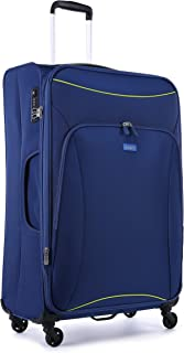 Antler 4263145015 Zeolite 4W Large Roller Case Suitcases (Softside), Blue, 80 cm