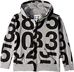 Numbered Zip Hoodie (Infant/Toddler/Little Kids)