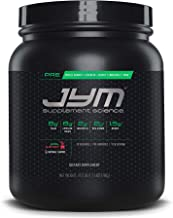 Pre JYM Pre Workout Powder - BCAAs, Creatine HCI, Citrulline Malate, Beta-Alanine, Betaine, and More | JYM Supplement Science | Natural Island Punch Flavor, 30 Servings