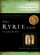 The Ryrie NAS Study Bible Genuine Leather Black Red Letter Indexed (Ryrie Study Bibles 2012)