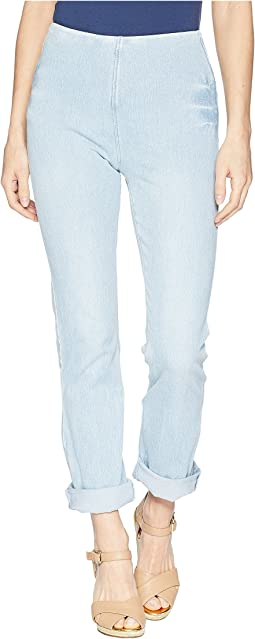 Rolled-Cuff Boyfriend Denim