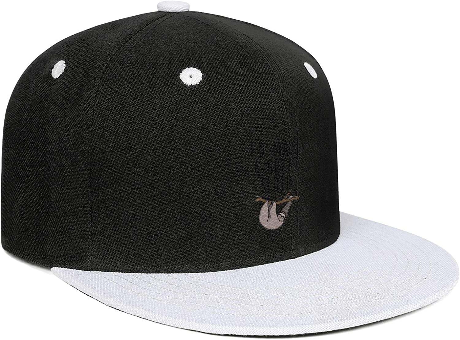LunchBaggg Id Make a Great Sloth Mens Guys Adjustable CapInteresting Sunscreen Commuter Hat