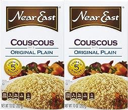 Near East Traditional Original Plain Couscous Quick Mix, Done in 5 Minutes!, 10 Oz each, Value Bundle 2 Pack, Kosher, Cous Cous