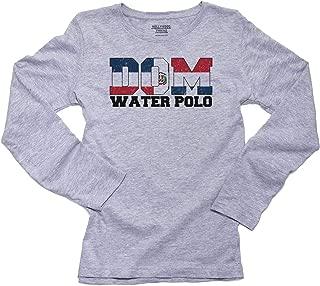 Olympic Water Polo - Dominican Republic Women's Long Sleeve T-Shirt