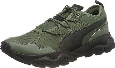 PUMA Men's Cell Magma Running Shoes, Black Black White 01, 7.5 (41 EU)