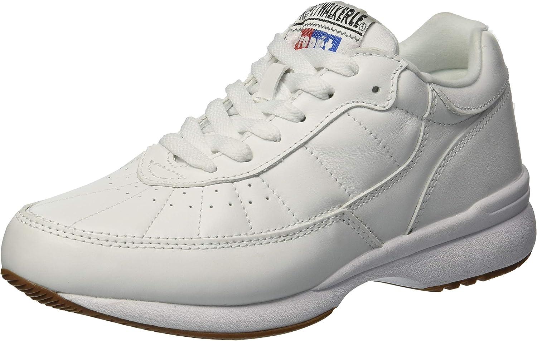 Propet Women's Walker LE Sneaker White 6 2E 2E US