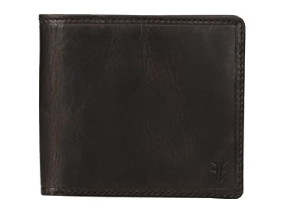 Frye Logan Billfold (Slate Antique Pull Up) Wallet Handbags