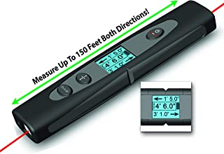 LSR2 Dual Laser Measuring Device - Perfect for Real Estate Agents, Carpenters, Measuring Hard to Reach Places