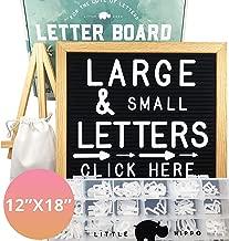 Letter Board 12x18 | +690 PRECUT Letters +Stand +Sorting Tray | (Black) Letter Board with Letters, Letters Board, Letter Boards, Felt Letter Boards, letterboard, Word Board, Message Board, Letter Sign