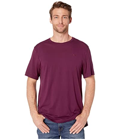 Tommy Bahama Crew Neck Lounge T-Shirt (Rumberry) Men
