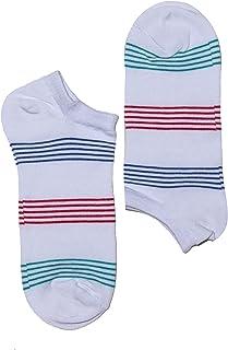 4 pares de calcetines, deportivos, informales, 4 colores, unisex, negro/azul marino/azul, talla única