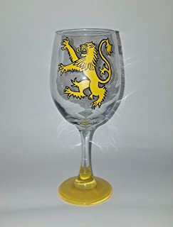 House Lannister wine glass