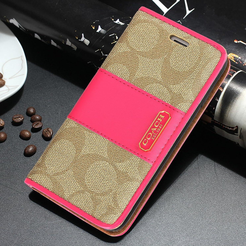 賢明なステレオ救出Iphone7/8 Iphone7plus/8plus IphoneX 手帳型 携帯ケース 人気高級PUレザー ウォレット式 携帯カバー カードポケット メンツ レディース ビジネス 多機能 (iphone 7 plus/iphone 8 plus, ピンク1)