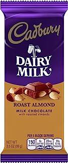 Cadbury Milk Chocolate Roasted Almond Premium Bar, 3.5 oz