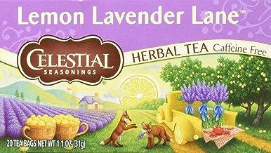 CELESTIAL SEASONINGS Herbal Tea Lemon Lavender Lane, 20 CT