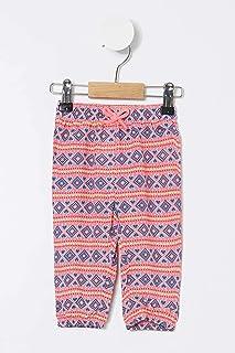 DeFacto Kız Bebek Desenli Örme Pantolon