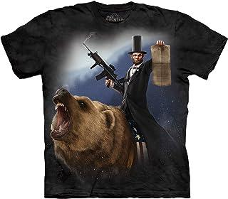 The Mountain Men's Lincoln The Emancipator T-Shirt, Black, XL