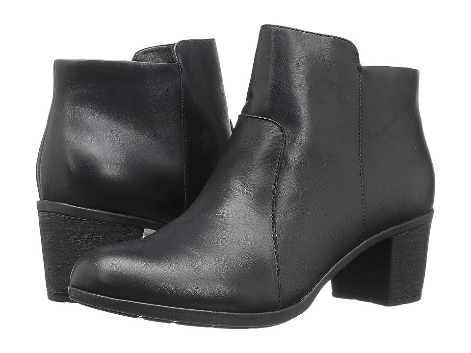 Easy Spirit Billian (Black Leather) Women