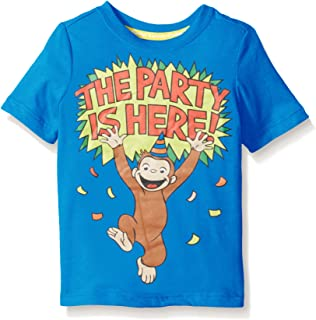 Curious George Boys' Toddler Boys' Short Sleeve Graphic T-Shirt