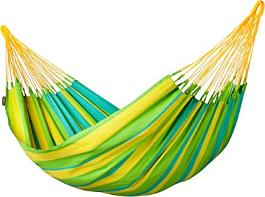 LA SIESTA Sonrisa - Hamac classique simple outdoor - Lime
